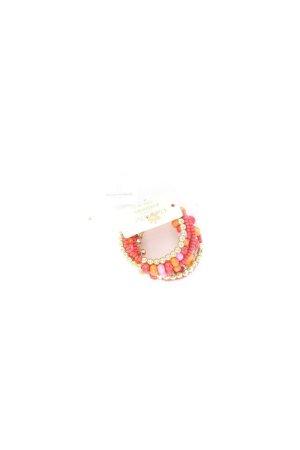 Clayre & Eef Bracelet gold orange-light orange-orange-neon orange-dark orange