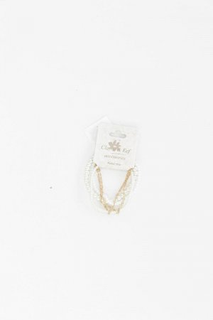 Clayre & Eef Bracelet natural white