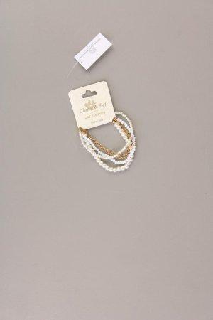 Clayre & Eef Armband weiß