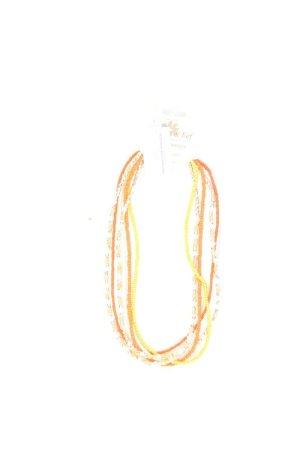 Clayre & Eef Chain goud Oranje-licht Oranje-oranje-neonoranje-donker oranje