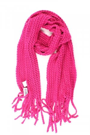 Clayre & Eef Scarf light pink-pink-pink-neon pink polyacrylic