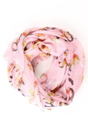 Clayre & Eef Sciarpa estiva rosa chiaro-rosa-rosa-fucsia neon Poliestere