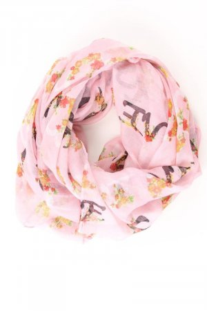Clayre & Eef Summer Scarf light pink-pink-pink-neon pink polyester