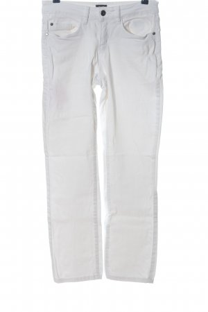 CLD Straight-Leg Jeans weiß Casual-Look