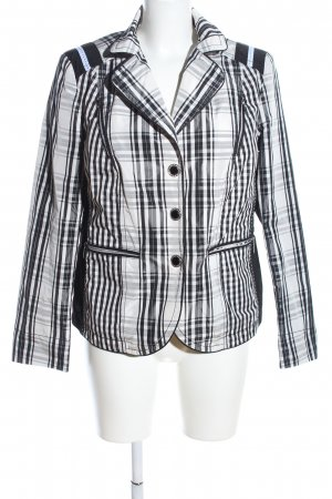Clément Short Jacket check pattern business style