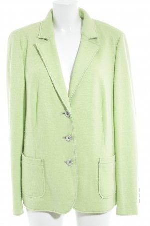 Clément Knitted Blazer pale green casual look