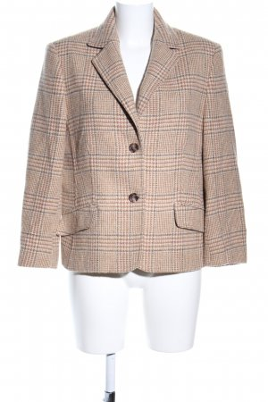 Clément Wool Blazer check pattern business style