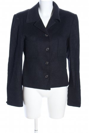 Clément Wool Blazer black flecked casual look