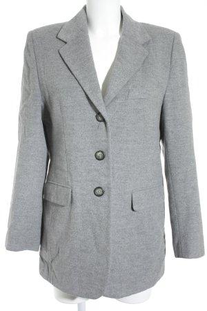 Clément Blazer in lana grigio chiaro-grigio stile classico