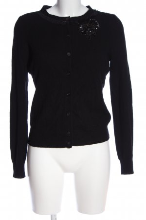 Clements Ribeiro Cardigan nero stile casual