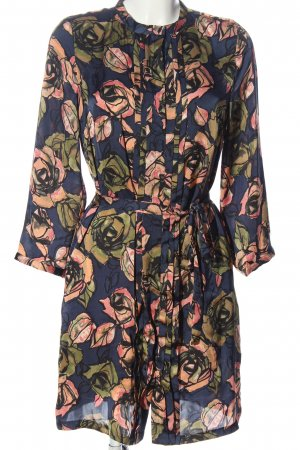 Clements Ribeiro Longsleeve Dress multicolored polyester
