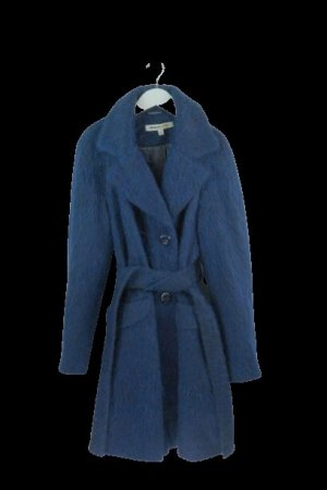 Clements Ribeiro Wool Coat dark blue wool