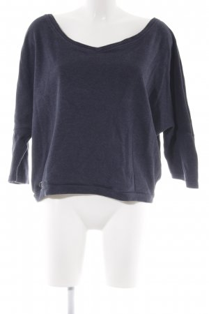 Cleptomanicx Knitted Jumper dark blue simple style