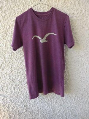 Cleptomanicx T-Shirt purple cotton