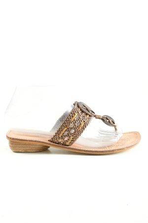 Cliffton Sandalo toe-post bianco sporco stile casual