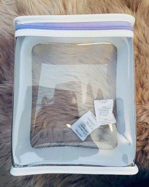 clinique Makeup Bag white