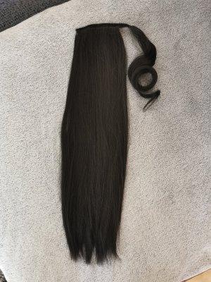Rapunzel of Schweden Haarelastiek zwart bruin
