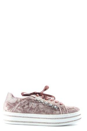 clo Schnürsneaker pink-weiß Casual-Look