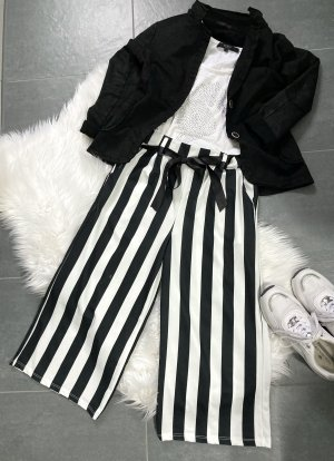 Made in Italy Culottes black-white