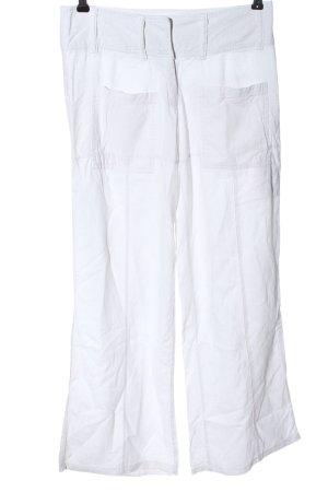 Clockhause Pantalon «Baggy» blanc style décontracté