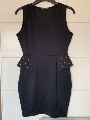 Clockhouse Robe péplum noir