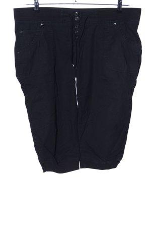 Clockhouse Pantalon 3/4 noir style décontracté