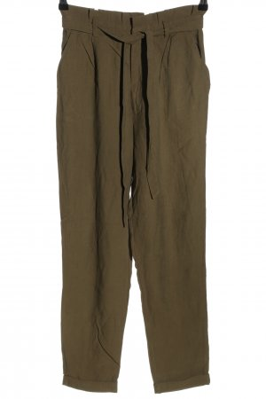 Clockhouse Pantalone a 7/8 marrone stile casual