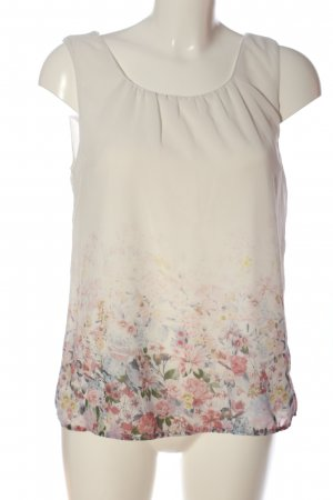 Clockhouse ärmellose Bluse Blumenmuster Business-Look