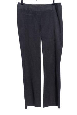 Clockhouse Pantalon de costume noir motif rayé style d'affaires
