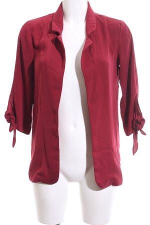 Clockhouse Veste chemisier rouge style décontracté