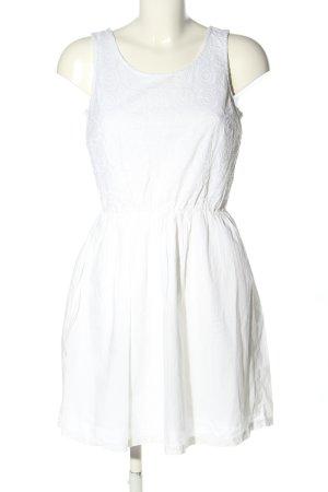 Clockhouse Robe découpée blanc style décontracté