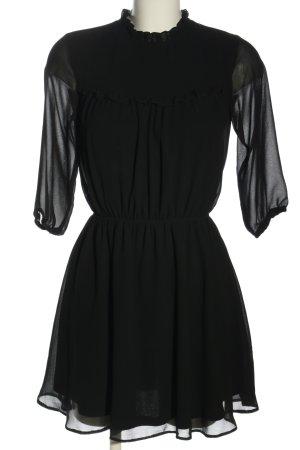 Clockhouse Blouse Dress black casual look