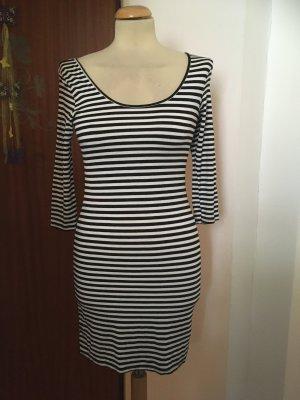 Clockhouse Tube Dress black-white