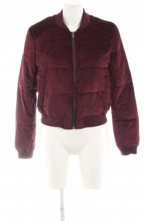 Clockhouse Bomberjacke purpur Casual-Look