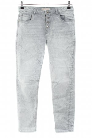 Clockhouse Boyfriendjeans hellgrau Casual-Look