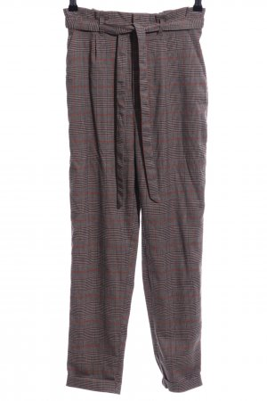 Clockhouse Bundfaltenhose bronzefarben Allover-Druck Business-Look