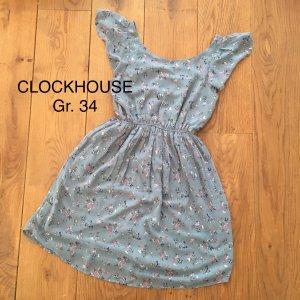 C&A Clockhouse Chiffon Dress multicolored