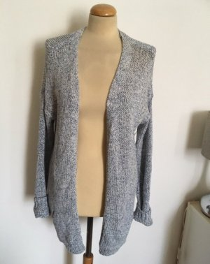 C&A Coarse Knitted Jacket white-azure