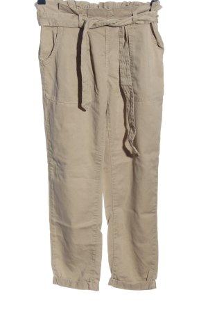 Clockhouse Pantalone cargo crema stile casual