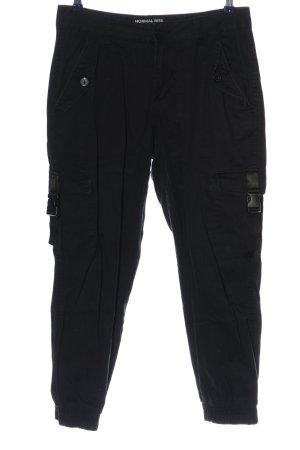 Clockhouse Pantalone cargo nero stile casual