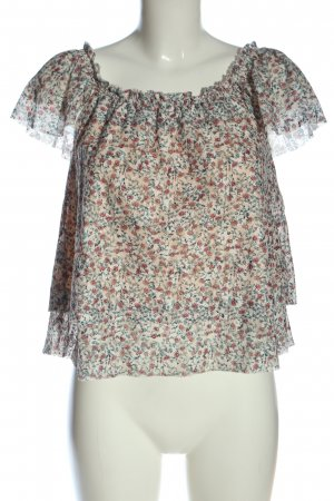Clockhouse Carmen-Bluse Allover-Druck Casual-Look