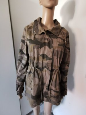 Clockhouse Military Jacket multicolored cotton