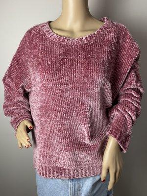 clockhouse damen pullover gr xl lila winter herbst gebraucht