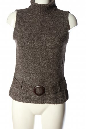 Clockhouse Fine Knitted Cardigan brown flecked casual look