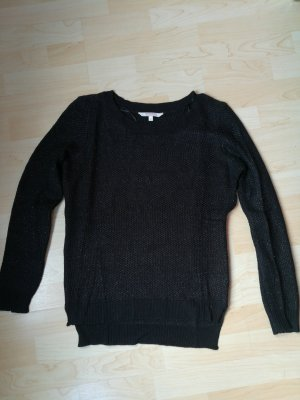 C&A Clockhouse Crochet Shirt black-silver-colored