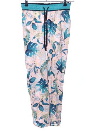 Clockhouse Pantalón estilo Harem estampado floral look casual