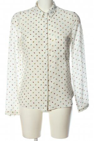 Clockhouse Hemd-Bluse abstraktes Muster Casual-Look