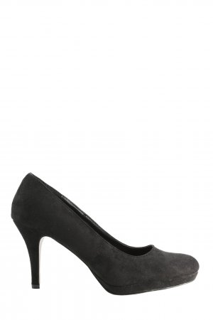 Clockhouse High Heels schwarz Business-Look