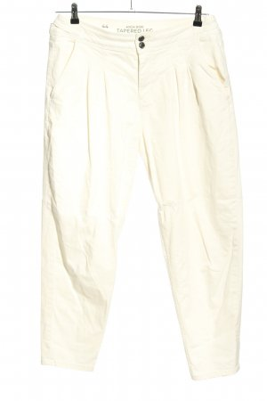 Clockhouse High Waist Trousers natural white casual look