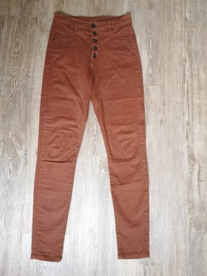 Clockhouse High Waist Jeans 34 Terracotta orange braun